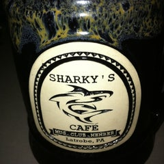 Photo taken at Sharky's Cafe by Jay B. on 7/31/2011