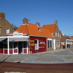 Photo taken at Cafetaria Sjaak Lammers by Tommie D. on 11/24/2011