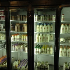 Photo taken at Ronnybrook Farm Dairy Milk Bar by Alex 2. on 8/6/2012