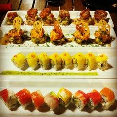 Photo taken at RA Sushi by Kayla F. on 8/6/2012
