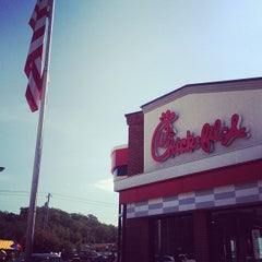 Photo taken at Chick-fil-A by okjedi D. on 8/1/2012