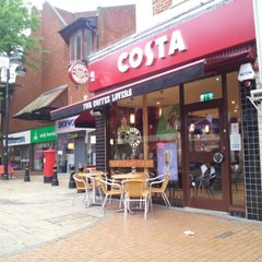 Photo taken at Costa Coffee by Ian M. on 6/11/2012