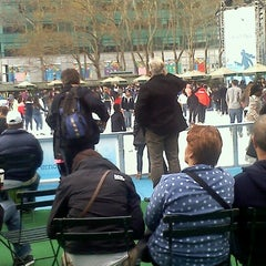 Photo taken at The Holiday Shops at Bryant Park by Keri B. on 12/31/2011
