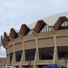 Photo taken at WVU Coliseum by Phillip A. on 1/30/2012