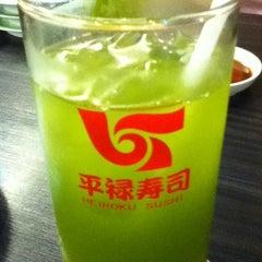 Photo taken at Heiroku Sushi (เฮโรคุ ซูชิ) by Lalana R. on 6/9/2012
