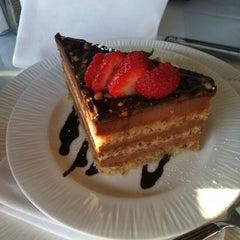 Photo taken at La Frite Cafe by Chris L. on 9/16/2011