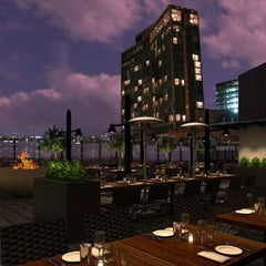 Photo taken at STK Rooftop by MR on 10/17/2011