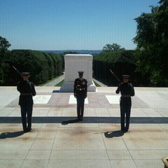 Photo taken at Arlington National Cemetery by Chelsea R. on 7/26/2011