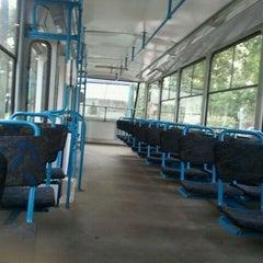 "Photo taken at 7. tramvajs | Ausekļa iela - Tirdzniecības centrs ""Dole"" by Renars G. on 9/8/2011"