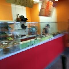 Photo taken at Halfmoon Creative Salads by Jennifer B. on 3/9/2012