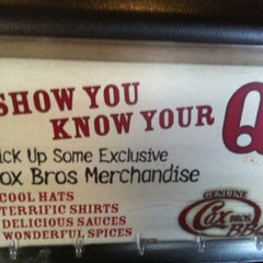 Photo taken at Cox Bros BBQ by Shelbi B. on 3/16/2012