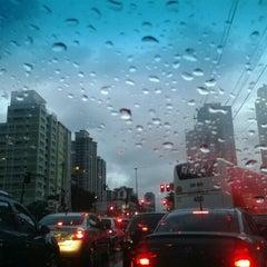 Photo taken at Avenida Santo Amaro by Simone A. on 4/26/2012