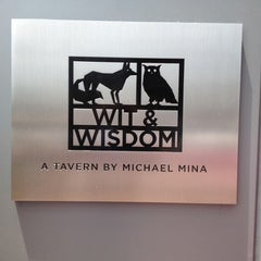 Photo taken at Wit and Wisdom, a Tavern by Michael Mina by Peter K. on 6/17/2012