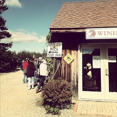 Photo taken at Applewood Orchards & Winery by John B. on 10/22/2011