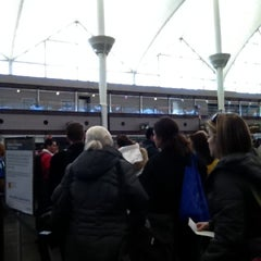 Photo taken at North Security Checkpoint by Alex S. on 11/27/2011