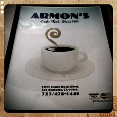 Photo taken at Armon's Cafe by Jeff V. on 9/10/2011