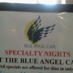 Photo taken at Blue Angel Cafe & Catering Co. by Mary Ann H. on 5/26/2012