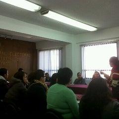 Photo taken at Junta Distrital Ejecutiva No. 28 IFE by Gus B. on 1/19/2012