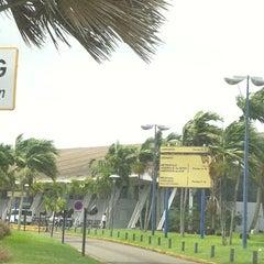 Photo taken at Aéroport Aimé Césaire (FDF) by Sandrine C. on 8/1/2011
