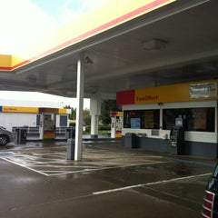 Photo taken at Shell by Sherri P. on 4/13/2012