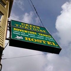 Photo taken at Green Tortoise Hostel by Zorro Z. on 4/12/2012