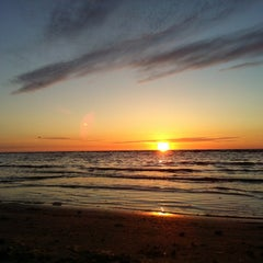Photo taken at Majoru pludmale | Majori beach by Eduard on 7/3/2012