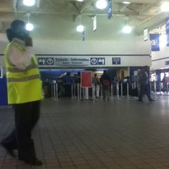 Photo taken at Megabus Stop - Washington, DC by Eva R. on 4/14/2012
