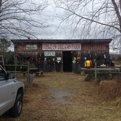 Photo taken at Field of Dreams Tree Farm by Katie K. on 11/27/2011