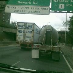 Photo taken at Cross Bronx Expressway (I-95) by Eugenio M. on 10/4/2011