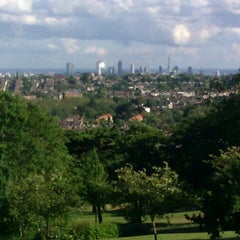 Photo taken at Alexandra Palace by Ed M. on 6/9/2012