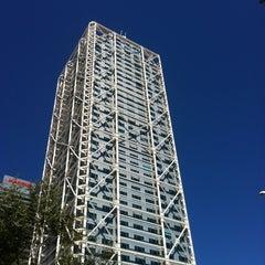 Photo taken at Hotel Arts Barcelona by Edu on 5/1/2012