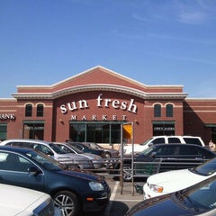 Photo taken at Marsh's Sun Fresh Market by Richard F. on 4/1/2012