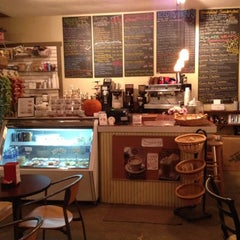Photo taken at The Corner Perk Cafe, Dessert Bar, and Coffee Roasters by Josh C. on 10/15/2011