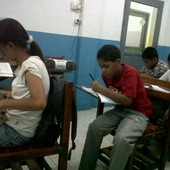 Photo taken at Gajah Mada Learning Center by Josephine F. on 9/21/2011