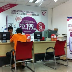 Photo taken at Smart Telecom BSD by Fadli P. on 9/12/2011