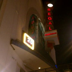 Photo taken at Regal Cinemas Pointe Orlando 20 & IMAX by Alex A. on 1/21/2012
