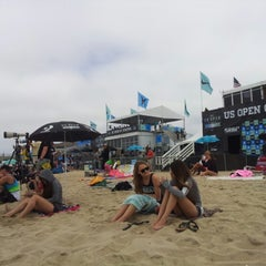 Photo taken at Vans US Open of Surfing 2013 by Ted K. on 7/29/2012
