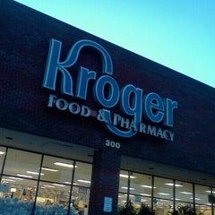 Photo taken at Kroger by Emily M. on 8/28/2011
