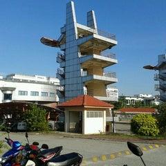 Photo taken at Balai Bomba Dan Penyelamat Cyberjaya by Mohd Aliff on 1/16/2012