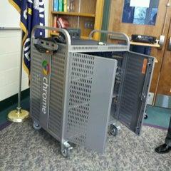 Photo taken at Shore Regional High School by Lisa T. on 1/10/2012