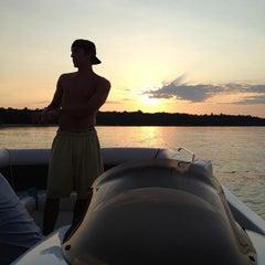 Photo taken at Boating by Jon K. on 7/4/2012