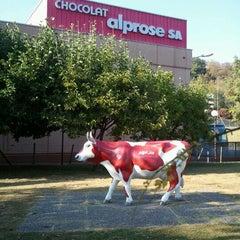 Photo taken at Chocolat Alprose by Davide L. on 10/15/2011