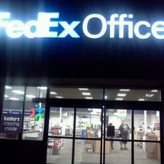 Photo taken at FedEx Office Print & Ship Center by Andrew D. on 1/20/2012