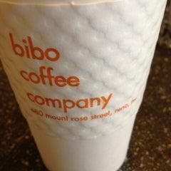 Photo taken at Bibo Coffee Co. by MindWidget on 5/18/2012