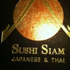 Photo taken at Sushi Siam Key Biscayne by Iñigo S. on 8/17/2012