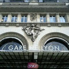 Photo taken at Gare SNCF de Paris Lyon by Sylvain L. on 3/30/2012