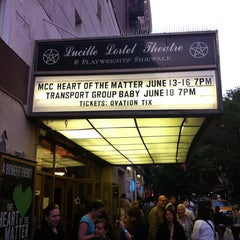 Photo taken at Lucille Lortel Theatre by Lauren A. on 6/14/2012
