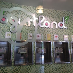 Photo taken at Yogurtland by Titus B. on 4/21/2012