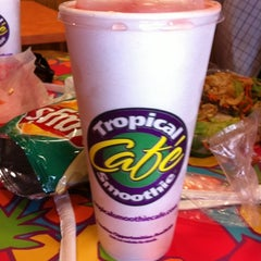 Photo taken at Tropical Smoothie Cafe by Austin B. on 7/18/2012