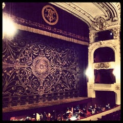 Photo taken at Teatro Municipal de Santiago by Sebastián M. on 6/19/2012